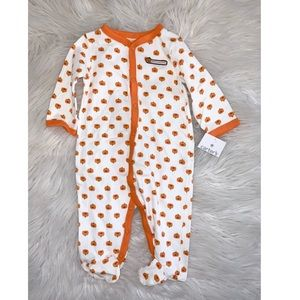 NWT Carter's Unisex Baby Pumpkin Outfit